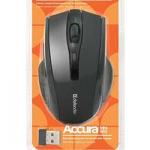 Мышь беспроводная Defender Accura MM-665 черная, 6 кнопок,800-1200 dpi
