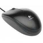 Мышь LOGITECH B100, оптическая, USB, черная