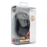 Мышь Gembird MUSW-325, беспроводная, 3 кнопки, черная