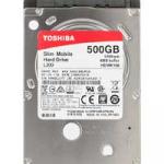 "Жесткий диск Toshiba L200 Slim 500 ГБ 2,5"" [HDWK105UZSVA]"